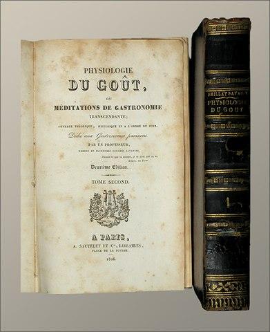 Второе издание Физиологии вкуса, 1838