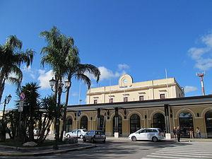 Brindisi railway station - Brindisi railway station in 2014