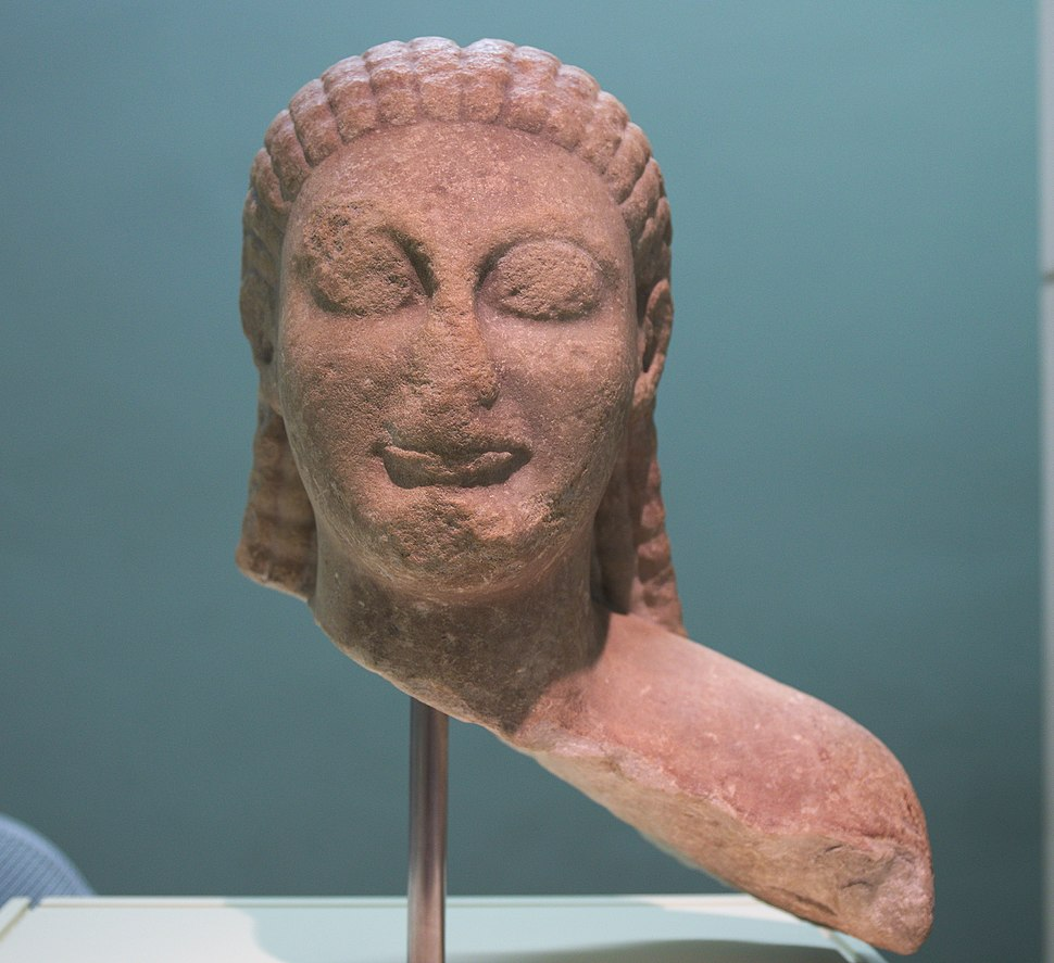 British Museum - Marble kouros B283