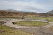 British barracks' remains at Vágar Airport, Faroe Islands