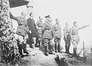 British generals Jerusalem 1918 AWM A02746A