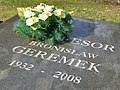 Bronisław Geremek - Cmentarz Wojskowy na Powązkach (12).JPG