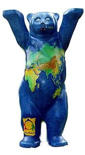 United Buddy Bears sculpture series