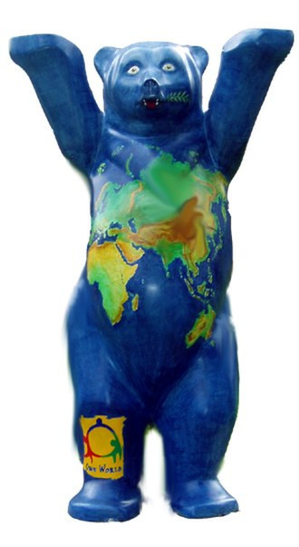 United Buddy Bears - One World Buddy Bear