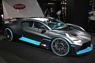 Bugatti Automobiles - Bugatti Divo at the 2018 Paris Motor Show