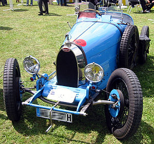 Dropped axle - Bugatti Type 37