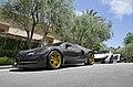 Bugatti Veyron Mansory Linea Vincero and McLaren P1 MK Edition (14353517256).jpg