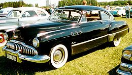 Una Buick Super coupé del 1949