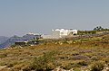 Building at the crater rim near Athinios port - Santorini - Greece.jpg