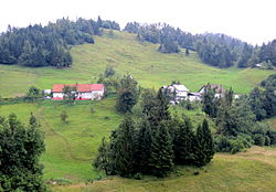 The hamlet of Doline in Bukovski Vrh