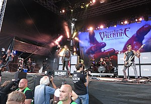 Bullet for My Valentine live auf dem Elbriot 2013