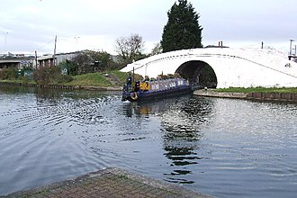 Paddington Arm - Bull's Bridge junction on the Grand Union Canal