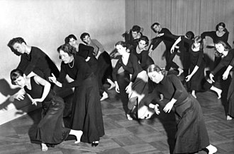 Mary Wigman - Mary Wigman, dance studio, West Berlin 1959