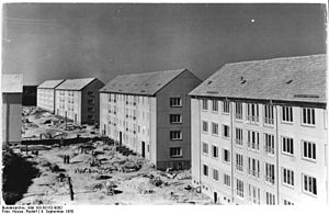 Hoyerswerda - GDR type housing built in the 1950s