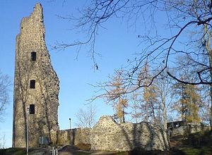 Dagstuhl Castle - The tower at Dagstuhl Castle.