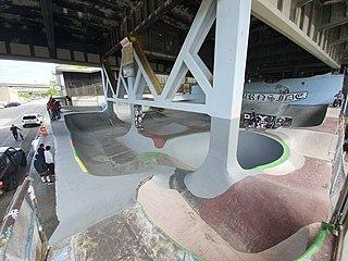 Burnside Skatepark sports venue