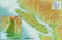 Location of Tsleil-Waututh Nation