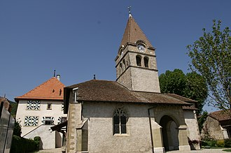 Bursins - The Church of Saint-Martin