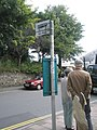 Bus stop on Castle Hill - geograph.org.uk - 937253.jpg