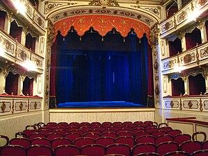 Busseto - Teatro Verdi interior