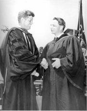 Byrd i prezydent Kennedy, 1963