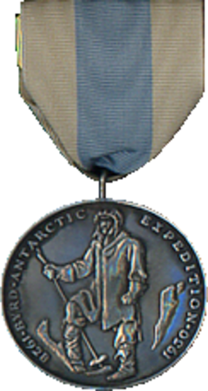 Byrd Antarctic Expedition Medal - Image: Byrd First Antarctic Expedition Medal
