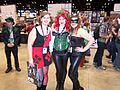 C2E2 (Day 2) 2014, Harlequin, Poison Ivy, and Catwoman.jpg