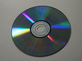 Chalcogenide glass - Image: CD RW bottom