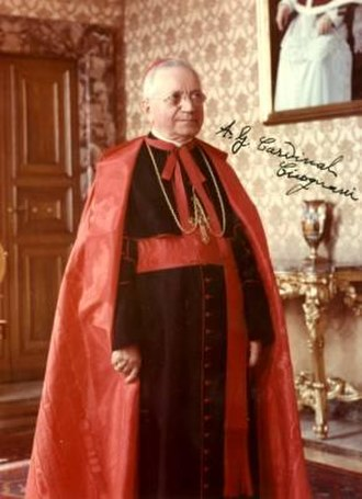 President of the Pontifical Commission for Vatican City State - Image: CICOGNANI AMLETO GIOVANNI (+1973)