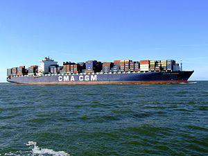 CMA CGM Parsifal p06 approaching Port of Rotterdam, Holland 29-Aug-2007.jpg