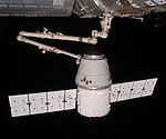 COTS2 Dragon is berthed.jpg