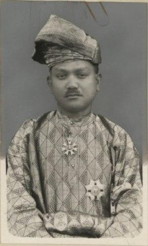 Abdul Rahman of Negeri Sembilan - Tunku Abdul Rahman in 1937.