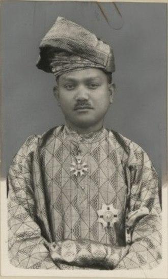 Abdul Rahman of Negeri Sembilan - Tuanku Abdul Rahman in 1937.