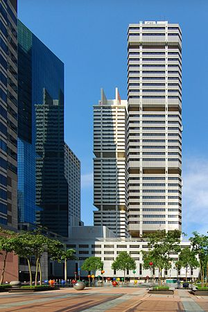English: CPF building shot from front of Capit...
