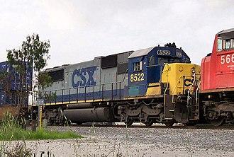 EMD SD50 - Image: CSX SD50 8522