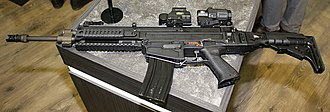 CZ 805 BREN - CZ 805 BREN A1 with EOTech sights and housing conversion for STANAG (NATO) magazine