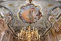 Ca' rezzonico, salone da ballo, quadrature di pietro visconti e affreschi di g.b. crosato (caduta di febo e 4 continenti), 1753, 01.jpg