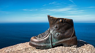 Cape Finisterre - Image: Cabo de Fisterra Bota BT 01