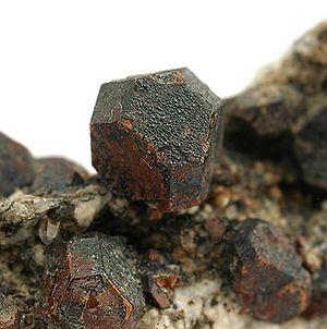 Cafarsite - Cafarsite on granite