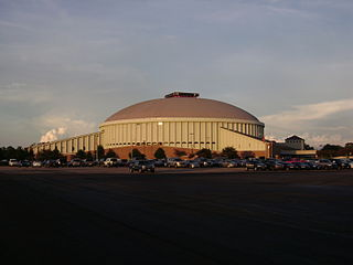 Cajundome Arena in Louisiana, United States