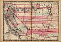 California State and New Mexico, Arizona, Nevada, Colorado and Utah Territories Map, 1862.jpg