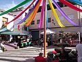 Calles decoradas en las fiestas de El Primer Corte de la Miel Ayora 2016 09.jpg
