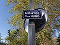 Caluire-et-Cuire - Montée Victor Hugo, plaque.jpg