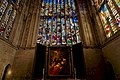 Cambridge - King's College Chapel 1446-1544 - Choir - View East on Altarpiece- Adoration of the Magi 1641 by Peter Paul Rubens II.jpg