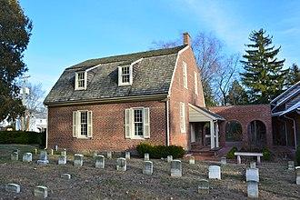 Camden, Delaware - 1805 Camden Friends Meetinghouse