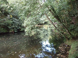 Dunmere, Cornwall - The River Camel at Dunmere Weir