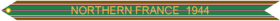 Campaign Streamer WWII Northern France 1944