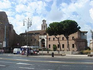 Pope Felix IV - Santi Cosma e Damiano
