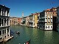 Canal Gran de Venècia, a l'esquerra el palau dei Camerlenghi.JPG