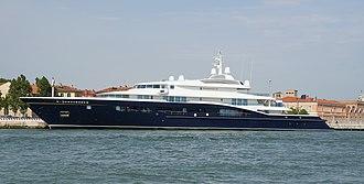 Helmut Horten - Carinthia VII, the personal yacht of Heidi Horten